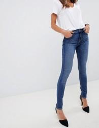 J Brand 620 Mid Rise Super Skinny Jeans - Blue