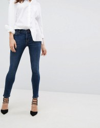 J Brand 811 Mid Rise Skinny Jeans - Blue