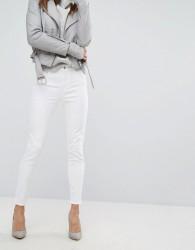 J Brand Alana High Rise Crop Skinny Jeans - White