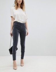 J Brand Alana Super Soft High Waist Skinny Jeans - Grey