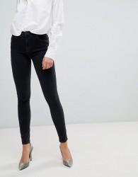 J Brand Maria High Rise Skinny Jean - Black