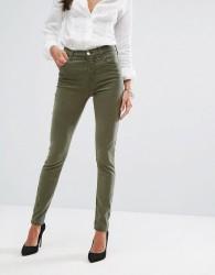 J Brand Maria High Rise Skinny Jean - Green