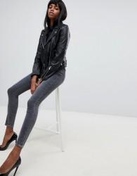 J Brand Maria High Rise Skinny Jeans - Grey