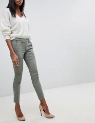 J Brand Utility Pocket Skinny Jeans - Green