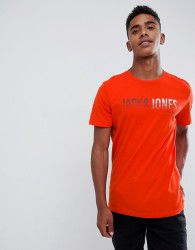 Jack and Jones Logo T-Shirt - Red