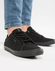Jack & Jones Canvas Trainer - Black