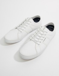 Jack & Jones Canvas Trainer - White