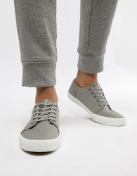 Jack & Jones Canvas Trainers - Grey