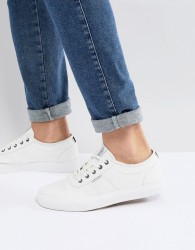 Jack & Jones Canvas Trainers - White