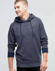 Jack & Jones Core Hoodie With Branding - Navy