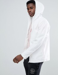 Jack & Jones Core Lightweight Hooded Jacket - White