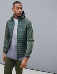 Jack & Jones Core Multi Quilt Jacket - Green