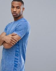 Jack & Jones Core Performance Dry Fit T-Shirt - Blue