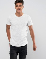Jack & Jones Crew Neck Slim Fit T-Shirt - Grey