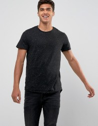 Jack & Jones Crew Neck Slim T-Shirt - Black