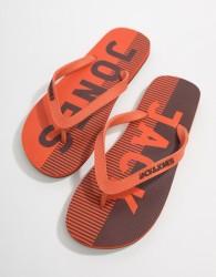 Jack & Jones Flip Flops - Orange