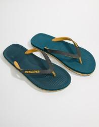 Jack & Jones Flip Flops With Moulded Sole - Blue