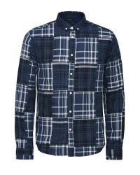 Jack & Jones Gravity Skjorte (Mørkeblå, LARGE)