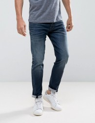 Jack & Jones Intelligence Jeans In Engineered Fit - Blue