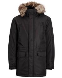 Jack & Jones Jcoland 12124254 Parka jacket (SORT, MEDIUM)
