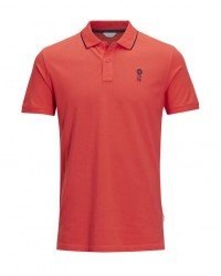 Jack & Jones Jcostone polo (RØD, XLARGE)