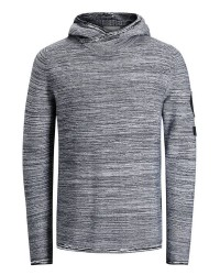Jack & Jones Jcowild knit hood 12122903 (MØRKEGRÅ, SMALL)