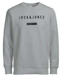 Jack & Jones Jcozack sewat crew 12118943 (LYSEGRÅ, LARGE)