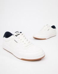 Jack & Jones Lace Up Trainers - White