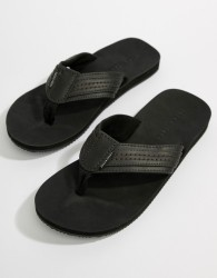 Jack & Jones Leather Sandal - Black