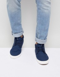 Jack & Jones Mid Top Trainer - Navy