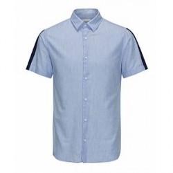 Jack & Jones Neal Shirt (Lyseblå, SMALL)