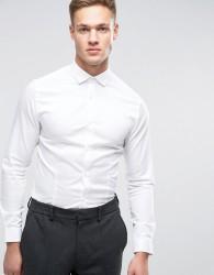 Jack & Jones Premium Stretch Shirt in Slim Fit - White