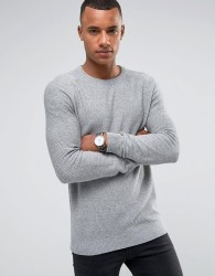 Jack & Jones Premium Textured Knit - Grey