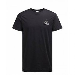 Jack & Jones Robert tee ss 12125681 (Sort, XXLARGE)