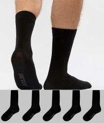 Jack & Jones Socks 5 Pack - Black