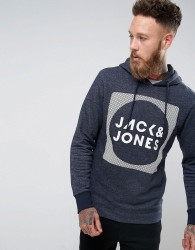 Jack & Jones Sweat Hoodie - Navy