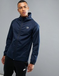 Jack & Jones Tech Breathable Shell Jacket - Navy