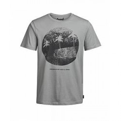 Jack & Jones Venice tee ss 12120813 (Grå, XXLARGE)