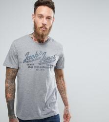 Jack & Jones Vintage T-Shirt with Graphic Print - Grey