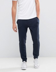 Jack Wills Barnaby Tapered Fit Sweat Joggers In Navy - Navy