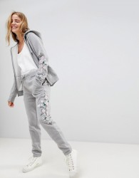 Jack Wills Embroidered Jogger - Grey