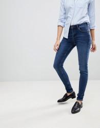 Jack Wills Fernham Mid Rise Super Skinny Jean In Indigo Wash - Blue