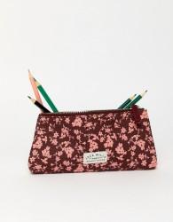 Jack Wills floral print pencil case - Multi