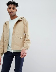 Jack Wills Hartley Cotton Parka in Sand - Tan