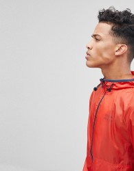 Jack Wills Hugheden Packable Shell Jacket In Red - Red