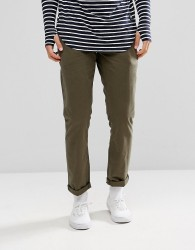Jack Wills Keadby Slim Fit Chino Trousers In Olive - Green