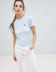 Jack Wills Logo Ringer T-Shirt - Blue