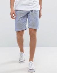 Jack Wills NewBiggin Chino Shorts in Navy Ticking Stripe - Navy