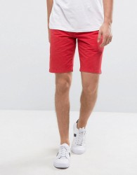 Jack Wills NewBiggin Chino Shorts in Washed Red - Red