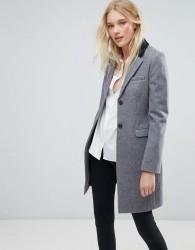 Jack Wills Overcoat - Grey